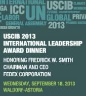 USCIB 2013 International Leadership Award Dinner