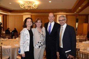 L-R: Grace Perez-Navarro (OECD), Carol Doran Klein (USCIB), David Camp (PwC), Pascal Saint-Amans (OECD)