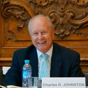 Charles R. Johnston, chair of USCIB's Trade and Investment Committee and Vice Chair of BIAC
