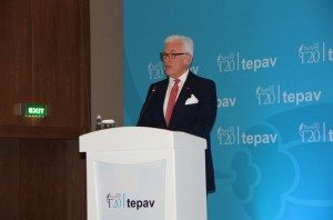 ICC Secretary General John Danilovich at the G20 Summit in Antalya, Turkey