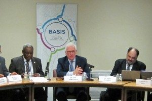 L-R: Moctar Yedaly (African Union), John Danilovich (ICC) and Joseph Alhadeff (Oracle)