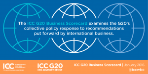 2016 ICC G20 Business Score Card