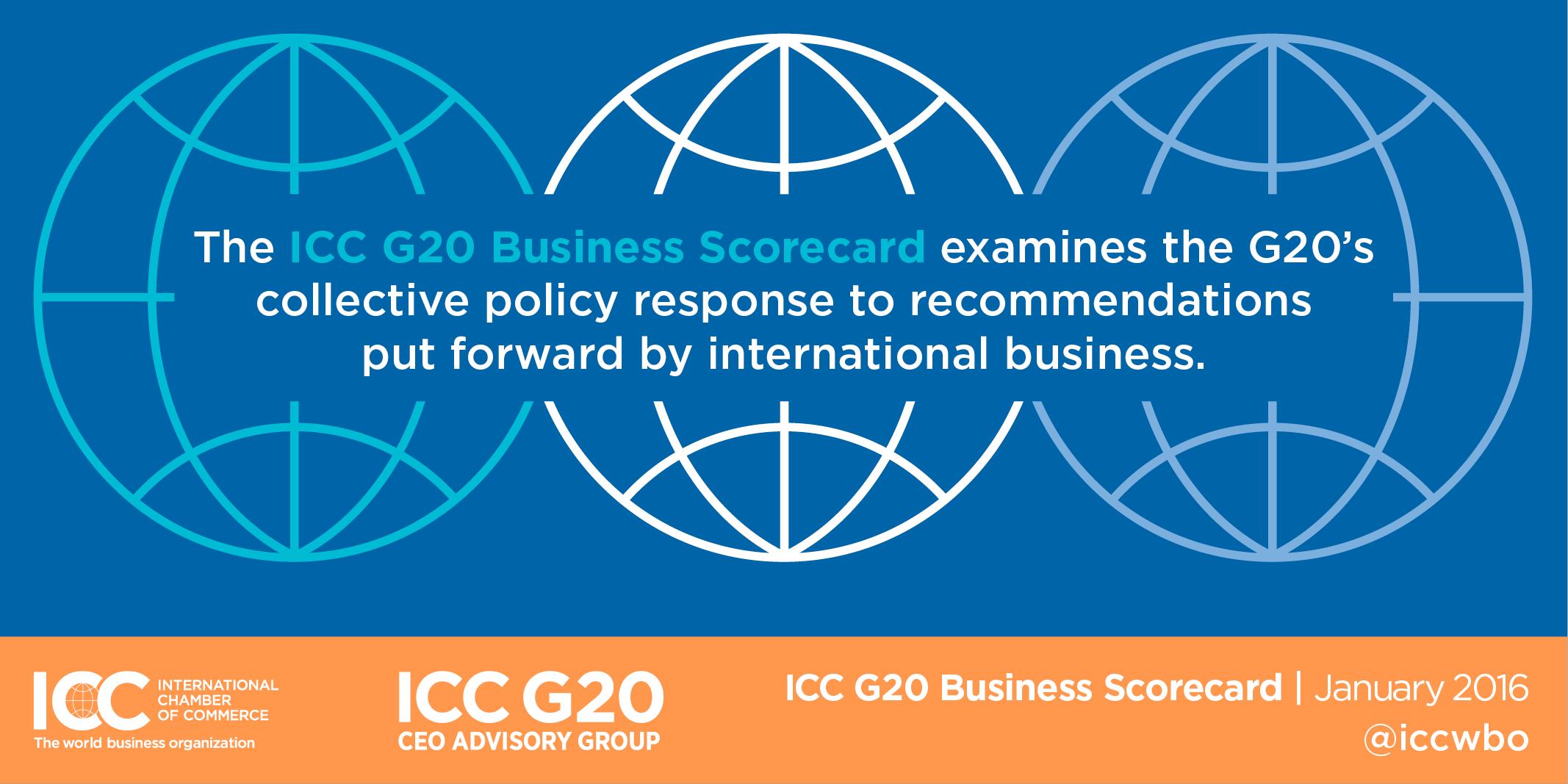 ICC Scorecard Flags Missed G20 Opportunities | USCIB