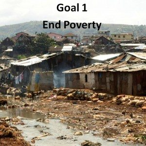 SDG Goal 1 End poverty in all its forms everywhere