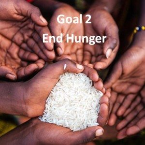 SDG Goal 2 End hunger, achieve food security & improved nutrition, promote sustainable agriculture