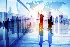 International Business Handshake