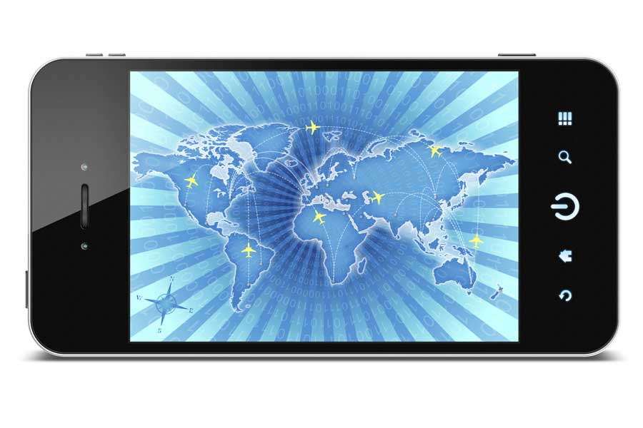 Smartphone_mobile_globe