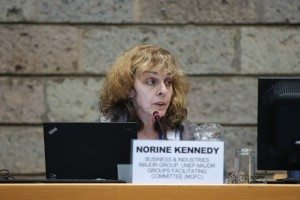 Kennedy at Nairobi UNEP Meetings