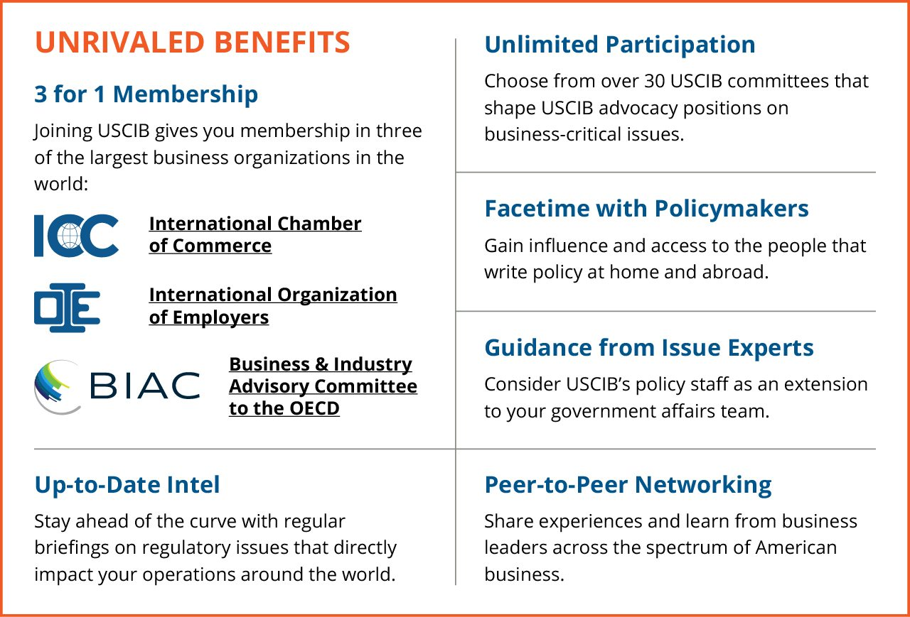 Join USCIB: Unrivaled Benefits