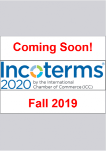 Incoterms 2020 Coming Soon